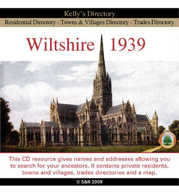 Wiltshire 1939 Kelly's Directory (CD-ROM)