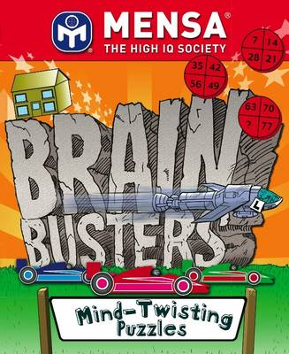 MENSA Brain Busters - Mind Twisting Puzzles (Paperback)
