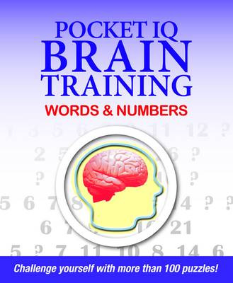 Pocket IQ Brain Trainer: Words and Numbers (Paperback)