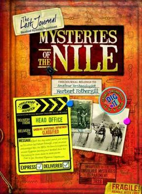 Lost Journal-Mysteries of the Nile (Hardback)