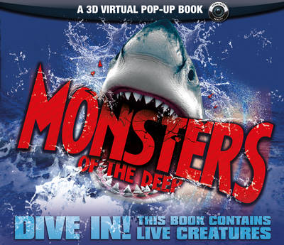Monsters of the Deep: An Augmented Reality Book (Hardback)