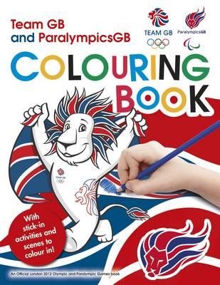 L2012 Team GB Sticker Colouring Book (Paperback)