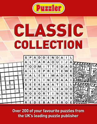 Puzzler Classic Puzzles Compendium (Spiral bound)