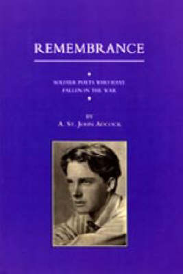 For Remembrance. Soldier Poets Who Have Fallen in the War 2002 (Hardback)