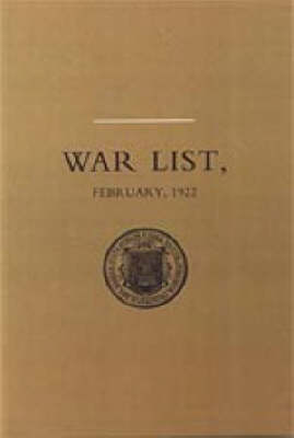 University of Dublin War List 1922 2002: Trinity College (Hardback)
