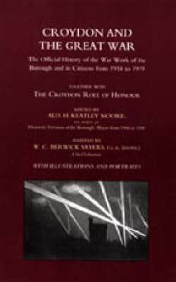Croydon and the Great War 2003 (Hardback)