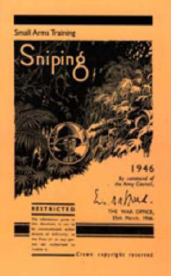 Sniping 1946 2004 (Hardback)