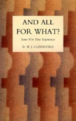 And All for What? 2004 (Hardback)