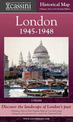 Cassini Historical Map, London 1946-1948 (LON-NPO): Discover the Landscape of London's Past - Cassini London Historical Map (Sheet map, folded)