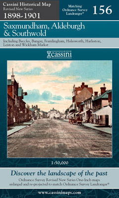 Saxmundham, Aldeburgh and Southwold - Cassini Revised New Series Historical Map Sheet 156 (Sheet map, folded)