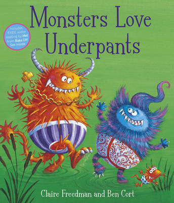 Monsters Love Underpants (Paperback)