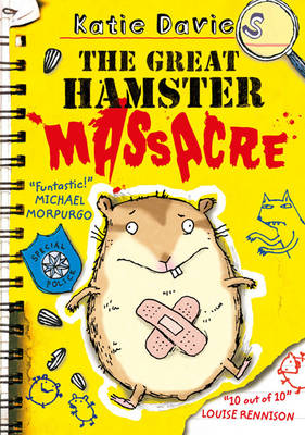 Cover of the book, The Great Hamster Massacre.