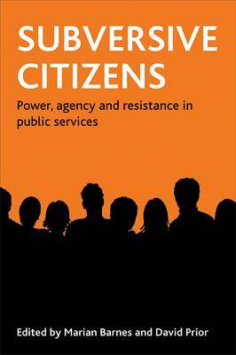 Subversive citizens: Power, agency and resistance in public services (Paperback)