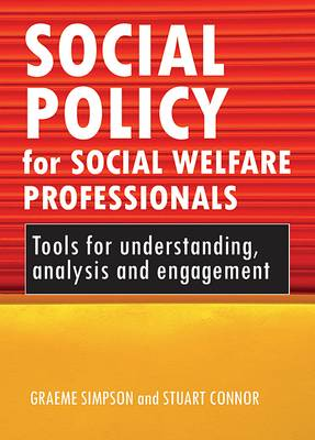 Social policy for social welfare professionals: Tools for understanding, analysis and engagement (Paperback)