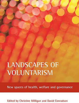 Landscapes of voluntarism: New spaces of health, welfare and governance (Paperback)