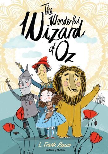 The Wonderful Wizard of Oz - Alma Junior Classics (Paperback)