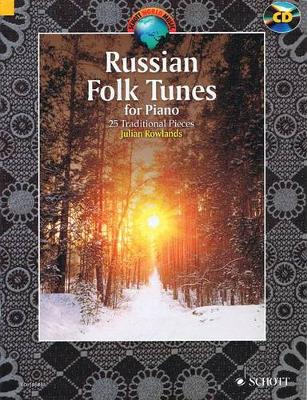 Russian Folk Tunes for Piano: 25 Traditional Pieces