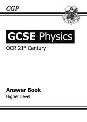 GCSE Physics OCR 21st Century Answers (for Workbook) - Higher (Paperback)