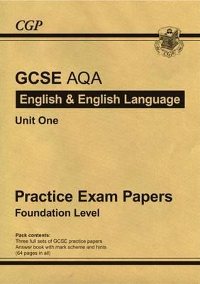 GCSE English AQA Practice Papers - Foundation (Paperback)