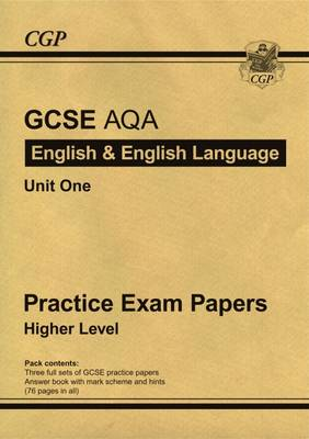 GCSE English AQA Practice Papers - Higher (A*-G Course) (Paperback)
