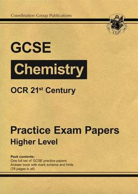 GCSE Chemistry OCR 21st Century Practice Papers - Higher (Paperback)