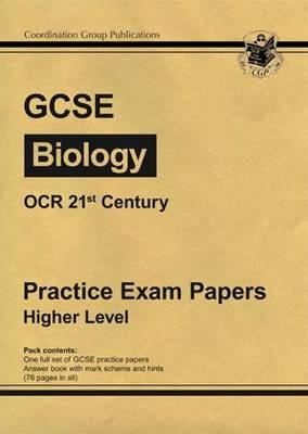 GCSE Biology OCR 21st Century Practice Papers - Higher (Paperback)