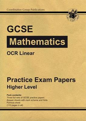 GCSE Maths OCR Linear Practice Papers - Higher (Paperback)