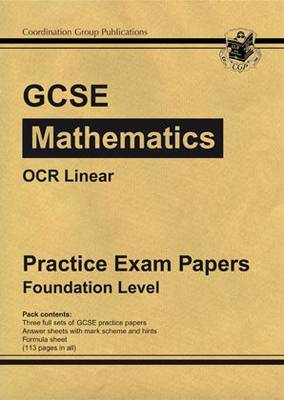 GCSE Maths OCR Linear Practice Papers - Foundation (Paperback)