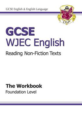 GCSE English WJEC Reading Non-Fiction Texts Workbook - Foundation (A*-G Course) (Paperback)