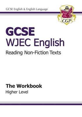 GCSE English WJEC Reading Non-Fiction Texts Workbook - Higher (A*-G Course) (Paperback)