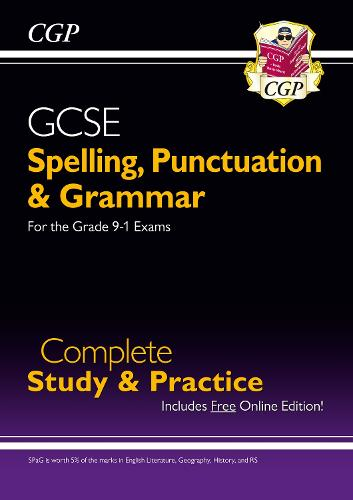 Spelling, Punctuation and Grammar for GCSE, Complete Revision & Practice (Paperback)