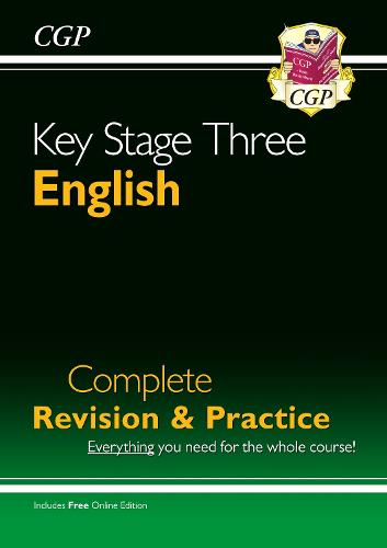 KS3 English Complete Study and Practice (With Online Edition) (Paperback)
