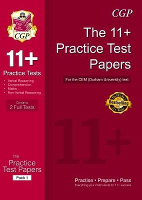 11+ Practice Papers for the CEM Test - Pack 1 (Paperback)