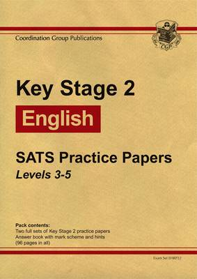 KS2 Sats English Sats Practice Papers Levels 3-5 2009 (Paperback)
