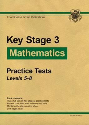 KS3 Maths Green Practice Tests - Levels 5-8 (Paperback)