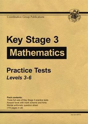 KS3 Maths Practice Tests - Levels 3-6 - 2008 (Paperback)