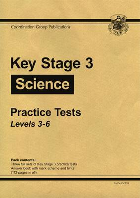 KS3 Science Practice Tests - Levels 3-6 (Paperback)