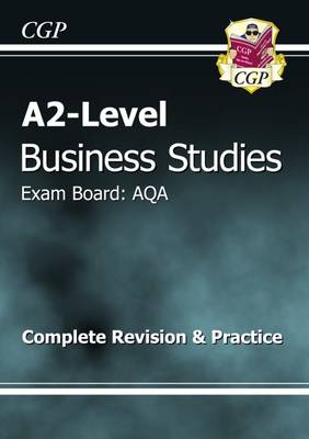 A2-Level Business Studies AQA Complete Revision & Practice (Paperback)