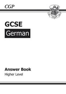 GCSE German Answers (for Workbook) Higher (A*-G Course) (Paperback)