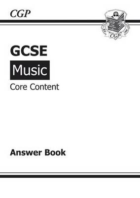 GCSE Music Core Content Music Theory Answers (for Workbook) (Paperback)