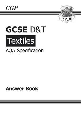 GCSE D&T Textiles AQA Exam Practice Answers (for Workbook) (A*-G Course) (Paperback)
