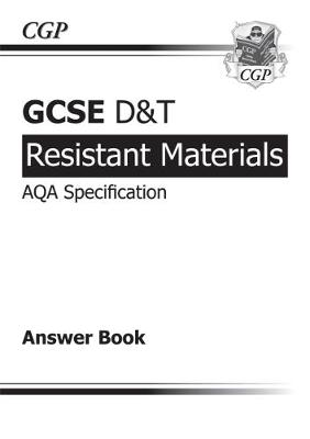 GCSE D&T Resistant Materials AQA Exam Practice Answers (for Workbook) (A*-G Course) (Paperback)