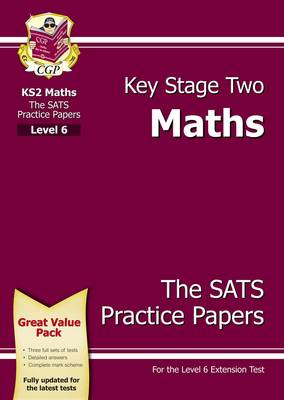 KS2 Maths SATs Practice Papers - Level 6 (Paperback)
