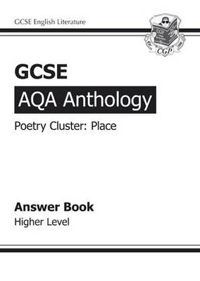 GCSE AQA Anthology Poetry Answers for Workbook (Place) Higher (A*-G Course) (Paperback)