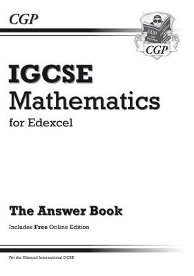 Edexcel Certificate/International GCSE Maths Answers for Workbook with Online Edition (A*-G) (Paperback)
