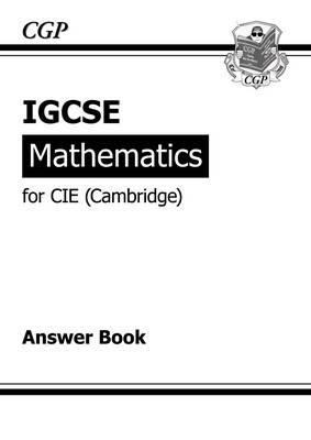 IGCSE Maths CIE (Cambridge) Answers (for Workbook) (Paperback)