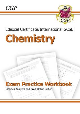 Edexcel International GCSE Chemistry Exam Practice Workbook with Answers (A*-G Course) (Paperback)