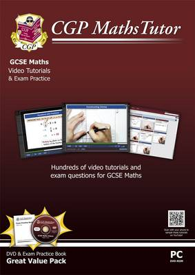 Mathstutor: GCSE DVD-Rom Tutorials and Exam Practice Pack - Higher Level (A*-G Resits)