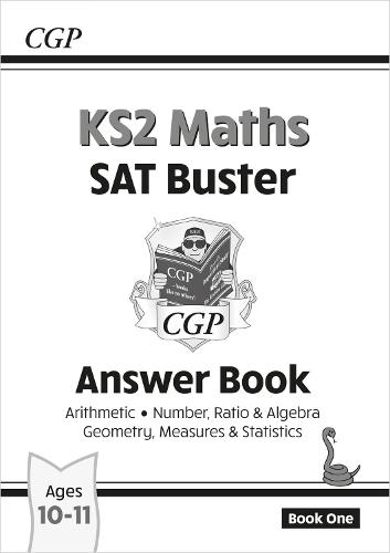 KS2 Maths SAT Buster: Answer Book (for tests in 2018 and beyond) (Paperback)