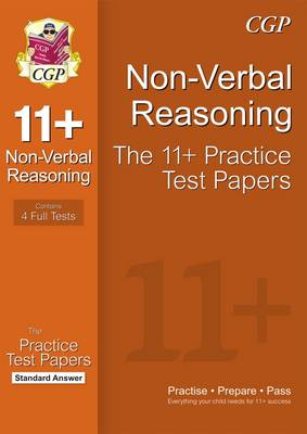 11+ Non-Verbal Reasoning Practice Papers: Standard Answers (for GL & Other Test Providers) (Paperback)